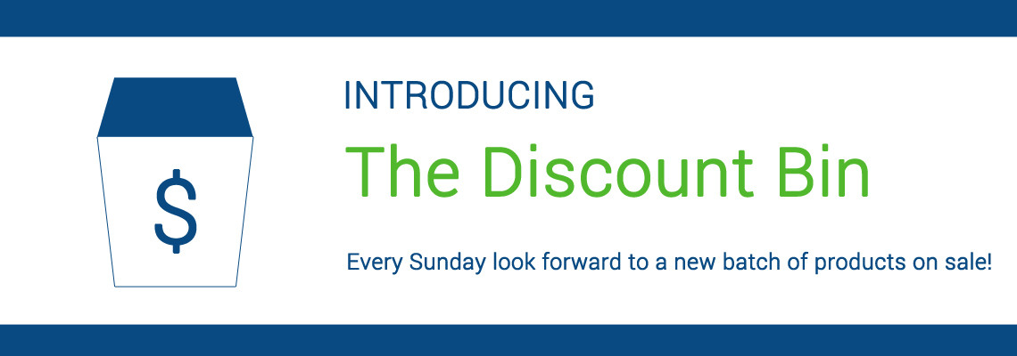 Check Out Our Discount Bin!